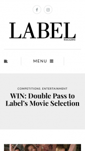 Label – Win a Double Pass at Event Cinemas