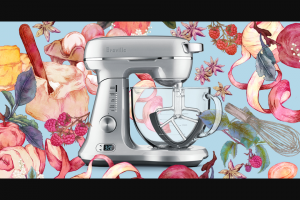 Muffin Break – Win 'the Bakery Boss' Mixer From Breville Australia to Celebrate Our Mother's Break Re-brand (prize valued at $1,199)