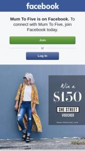 Mum to five – Win a $150 She Street Voucher