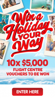 $10 on any eligible product – Win a Prize (prize valued at $50,000)