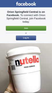 Orion Springfield Central – Win a 3kg Tub of Nutella
