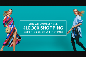 Pacific Fair Shopping Centre – Win an Unmissable $10000 Shopping Experience of a Lifetime