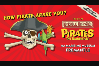 92.9 Perth – Win Family Passes to The Interactive Family Exhibition Horrible Histories