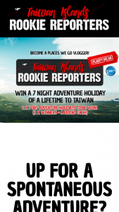 Places We Go – Win a Holiday to Taiwan and Share Your Experiences With Us (prize valued at $11,053)
