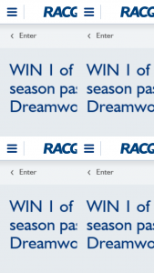 RACQ – Win 1 of 5 Dreamworld Family Passes (prize valued at $356)