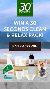 30 Seconds – Will Receive 1 X 1l 30seconds Shower Cleaner and a Coolfoodstuffs Hamper Valued at $230 • Total Prize Pool Value Is $460. (prize valued at $230)