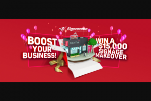 Signarama – Win $15000 Towards The Signage Makeover of Your Dreams