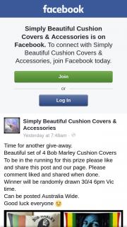Simply Beautiful Cushion Covers & Accessories – Win Bob Marley Cushion Set