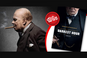 Stack magazine – Win a Signed Poster of Darkest Hour & Bluray