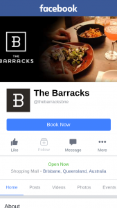 The Barracks – Must Be Able to Collect Their Prize From Palace Cinemas at The Barracks