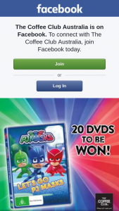 The Coffee Club – Win One of Twenty Copies of Pj Masks on DVD