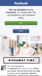The Lip Indulgence – Win a Lipsense Collection Valued $74… (prize valued at $74)