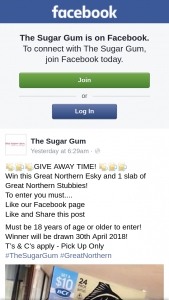 The Sugar Gum – Win this Great Northern Esky and 1 Slab of Great Northern Stubbies