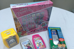 Win an Avengers and a Disney Princess Winning Moves Games Bags