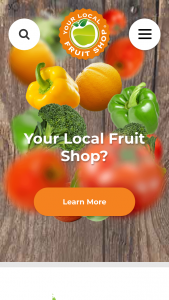 Yout Local Fruit Shop – Wobbler In Participating Your Local (prize valued at $5,500)