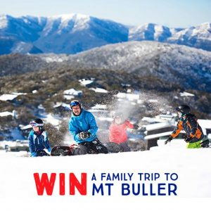 Anaconda – Win a 3-day holiday to Mt Buller, Victoria for 4 (2 adults, 2 kids) valued at up to $7,500