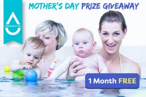 Aquabliss – Mother's Day – Win 1 of 7 prizes of 1 month of swimming lessons