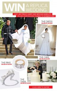 Bauer Media – Woman's Day – Win a replica wedding just like Harry and Meghan's valued at up to $22,550