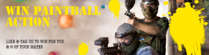Brilliant Lighting – Win Paintball action for 10 people