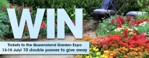 Gardening Australia – Win 1 of 10 double passes to the QLD Garden Expo valued at $40 each