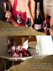 Moet & Chandon – Win a VIP experience to Moet & Chandon Gran Day valued at $1,187