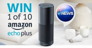 Network Ten – Eyewitness News – Win 1 of 10 major prize packs valued at $405 each OR 1 of 10 minor prizes of an Echo Dot valued at $79 each