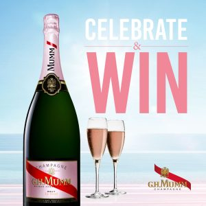 Pernod Recard Winemakers – Win 1 of 84 Mumm Rose Magnum 1.5L valued at $175.99 each