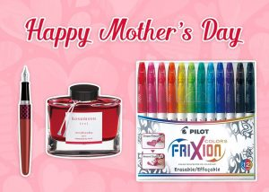 Pilot Pen Australia – Mother's Day – Win a grand prize pack valued at $100 OR 1 of 2 minor prizes