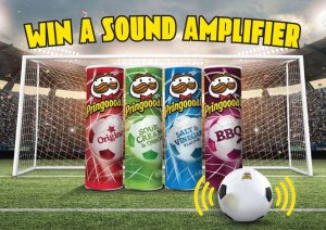 Pringles – Favourite Flavour 2018 – Win 1 of 50 silicone sound amplifier valued at $10 each