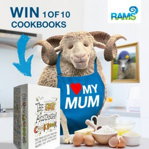 RAMS Home Loans – Win 1 of 10 copies of The Great Australian Cookbooks