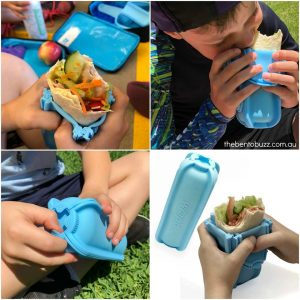 The Bento Buzz – Win 1 of 3 Wrap'd Silicone Wrap Holders