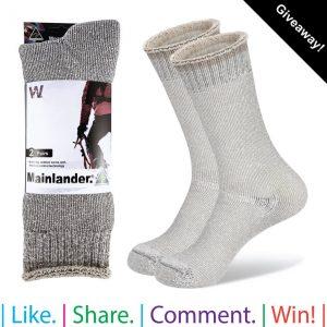 Wearproof – Win 2 pair prize pack of Aussie Made Mainlander socks