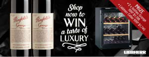 Wine Selectors – Cellar and Savour – Win a Liebherr Wine Fridge and Grange package valued at up to $2,938