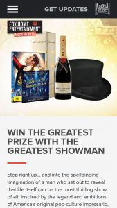 Access All Areas – Fox movies – Win a Very Magical Prize Including (prize valued at $200)