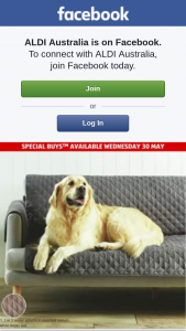 Aldi Australia – Win a Pet Couch Cover