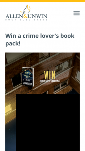 Allen & Unwin – a Crime Lover's Book Pack Featuring Thirteen of Our Favourite Crime Thrillers of Recent Months