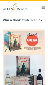 Allen & Unwin – Win a Book Club In a Box (prize valued at $350)