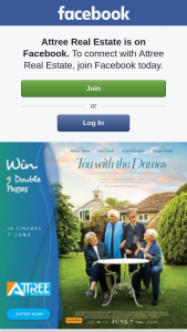 Attree Real Estate – Win 1 of 5 Double Passes to See Tea With The Dames In Cinemas 7 June