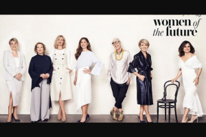 Australian Womens Weekly & Bauer Media Woman of the Future & – Win $35000 As Well As a Full Page Advertisement In The Australian Women's Weekly to Promote Her Cause (prize valued at $1,000)