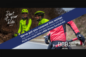 BBB Cycling Australia – Win a Bbb Winter Survival Kit (prize valued at $1,004.87)
