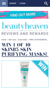 Beauty Heaven – Will Receive a Skin Purifying Mask