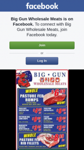 Big Gun Wholesale Meats Underwood – Win One of 2 $100 Vouchers.