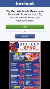 Big Gun Wholesale Meats Underwood – Win One of 2 $100 Vouchers.specials Valid 2.5.2018
