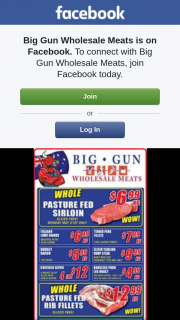 Big Gun Wholesale Meats – Win One of 2 $100 Vouchers.specials Valid 16.5.2018