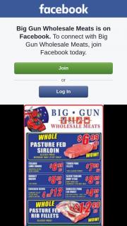Big Gun Wholesale Meats – Win One of 2 $100 Vouchers.specials Valid 16.5.2018