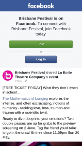 Brisbane Festival – Win One of Two Double Passes to See The Mathematics of Longing