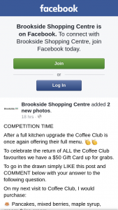 Brookside Shopping Centre – Will Be