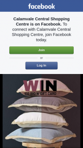 Calamvale Central – Win $100 Big W Gift Card Must Collect (prize valued at $100)