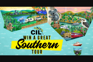 CIL Insurance – Win a Trip for Two Exploring Some of The Most Exciting Regions of Australia on Cil's Great Southern Tour (prize valued at $19,237)