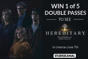 Costume Box 5 hereditary movie double passes to give away – Competition